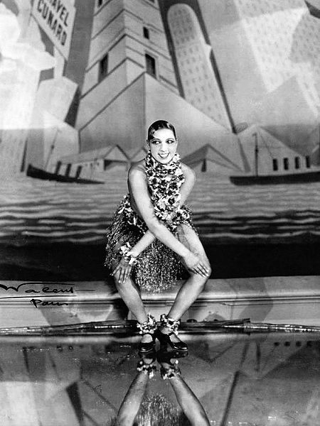Josephine Baker dancing the Charleston at the Folies-Bergère, Paris