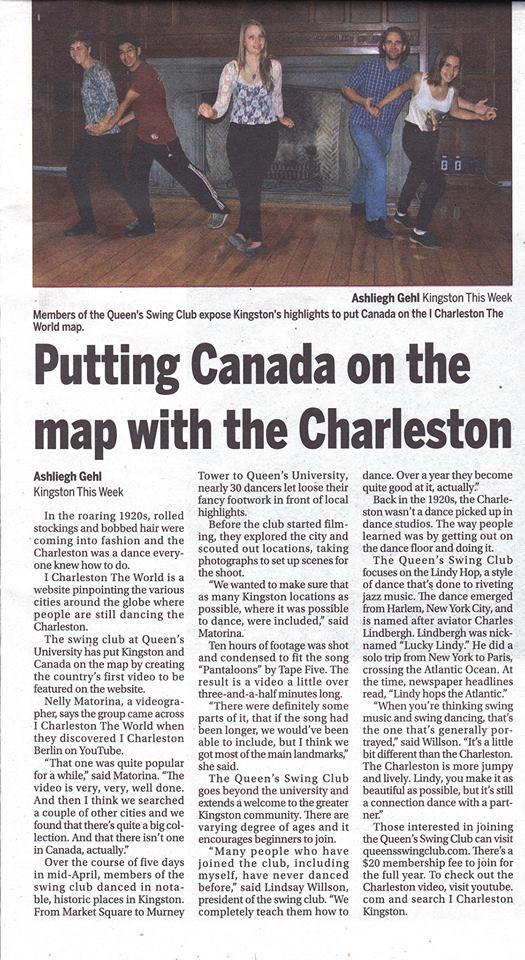 Kingston this Week interview for I Charleston Kingston